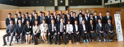 长崎学校入学典礼