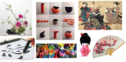 Japanese art and handcraft