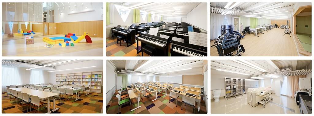 Tokyo-Healthcare-College-Facilities