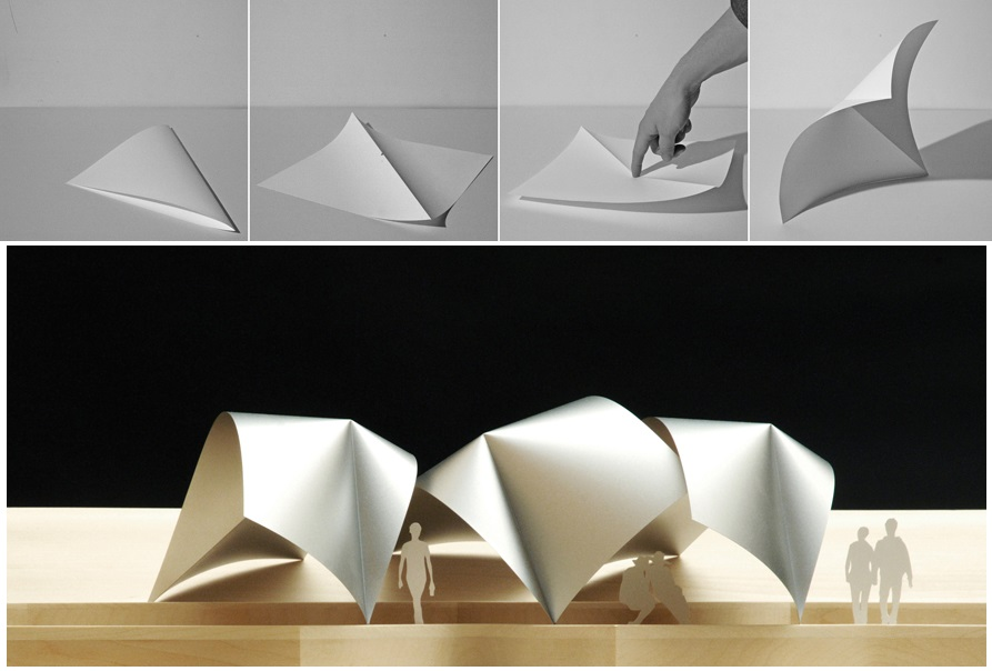 When Origami Inspires Architecture